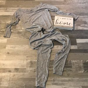 Wide Neck Jumpsuit - TALL size 6/ Small
